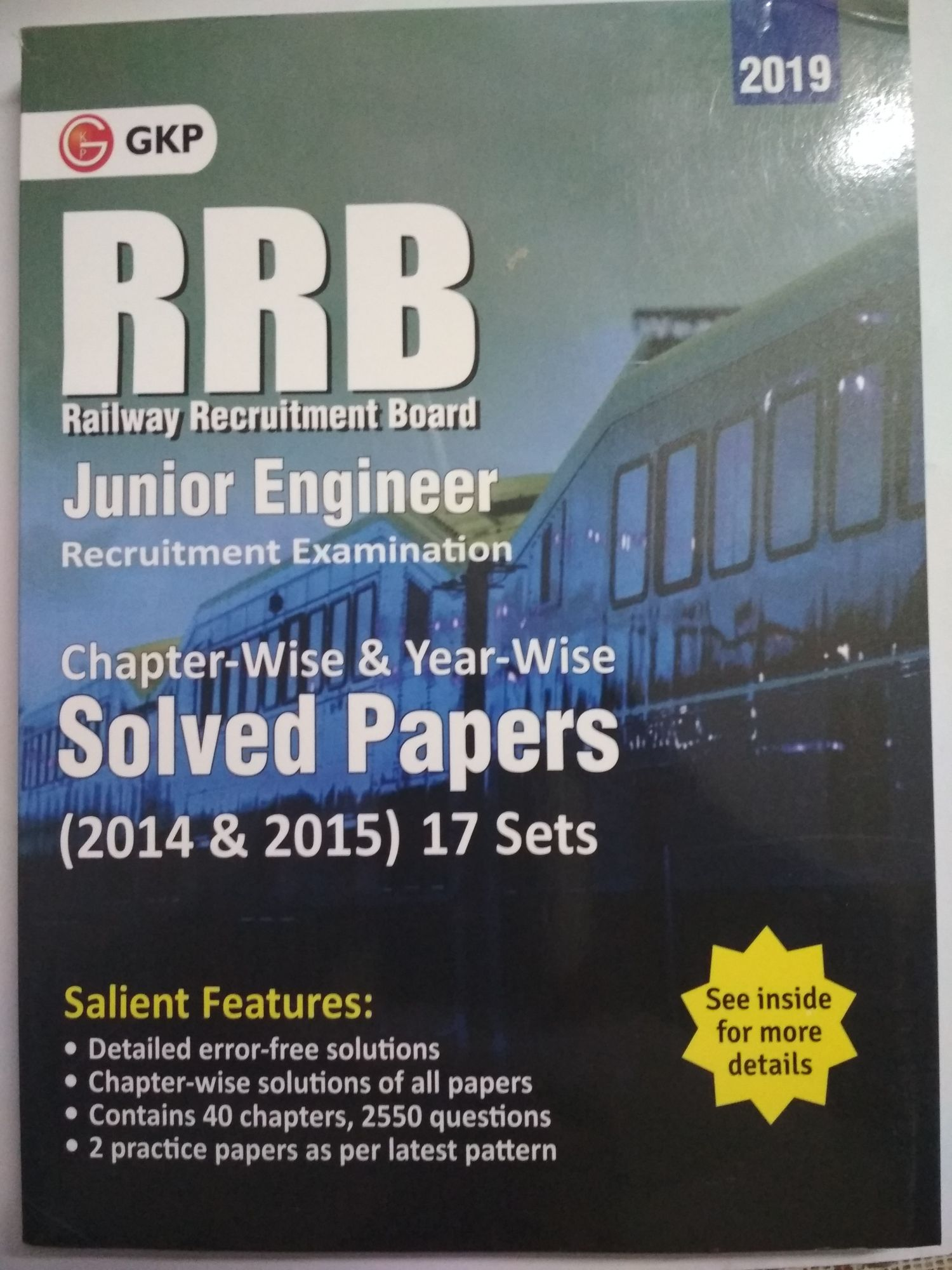 RRB Junior Engineer Exam Solved Paper by gkp