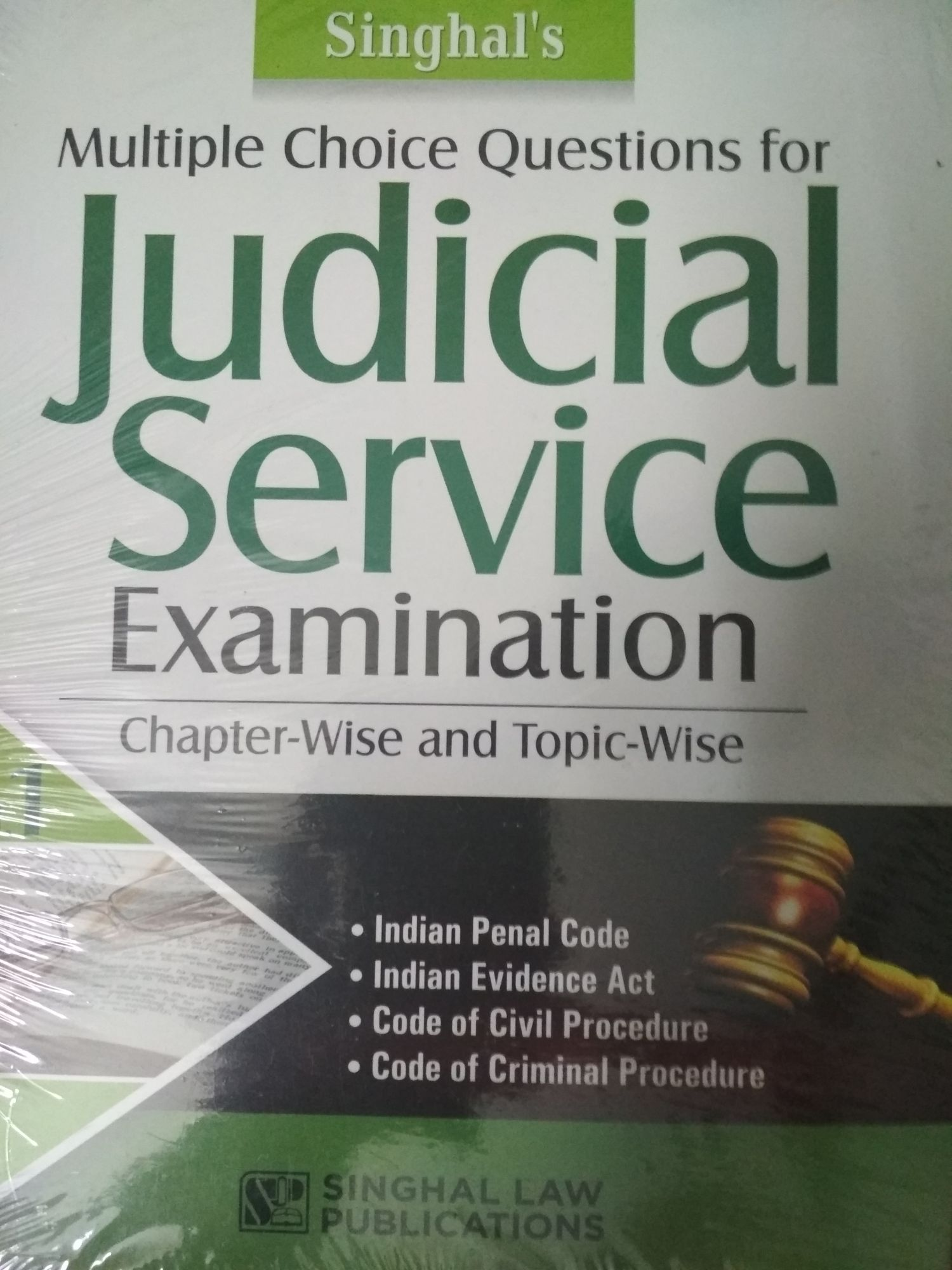 Singhal's Multiple Choice Questions For Judicial Services Examination  Volume 1