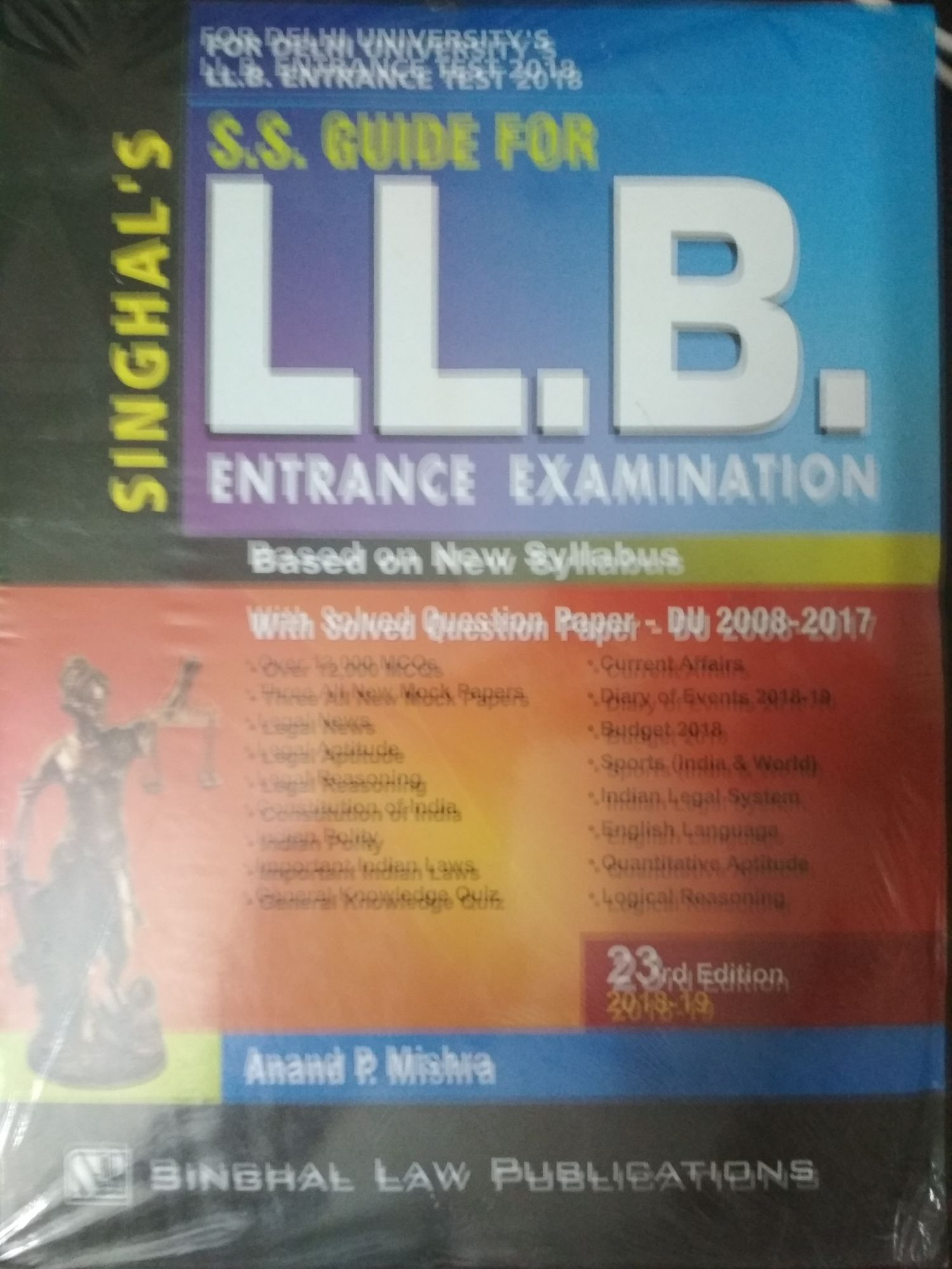 Singhal's S.S. Guide For LL.B. Entrance Examination