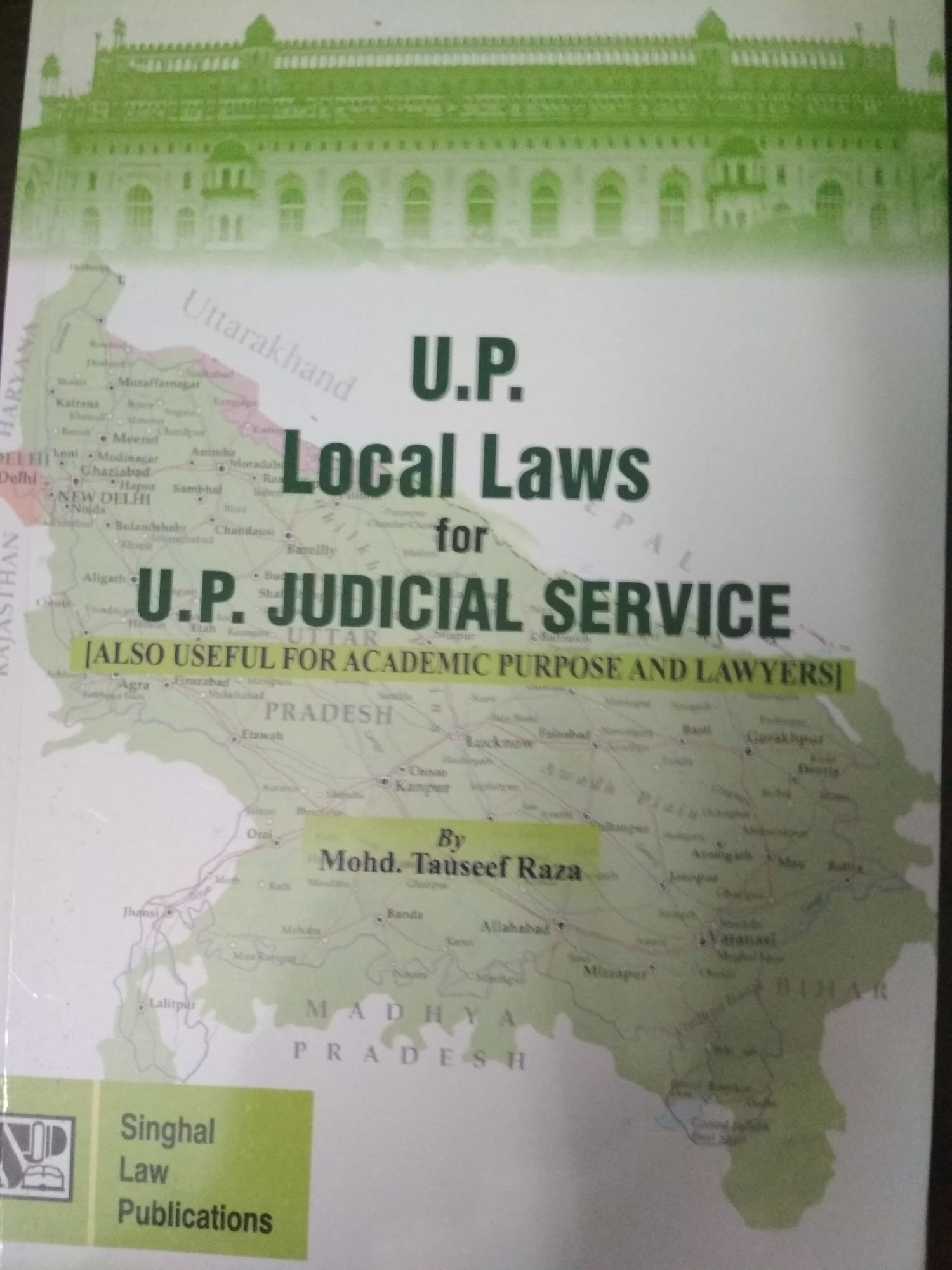 U.P. Local Laws For U.P. Judicial Service