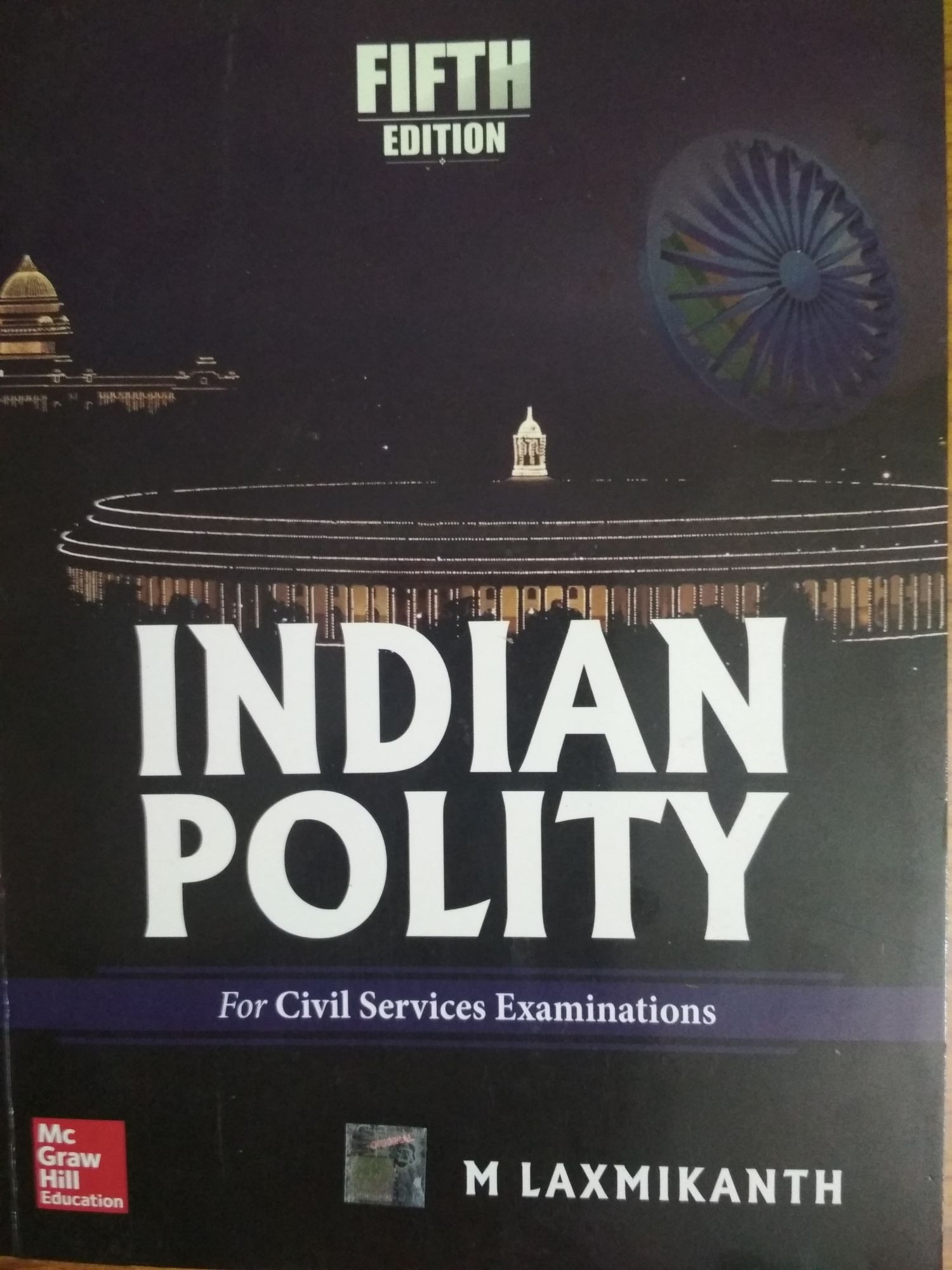 M Laxmikanth Indian Polity Fifth Edition