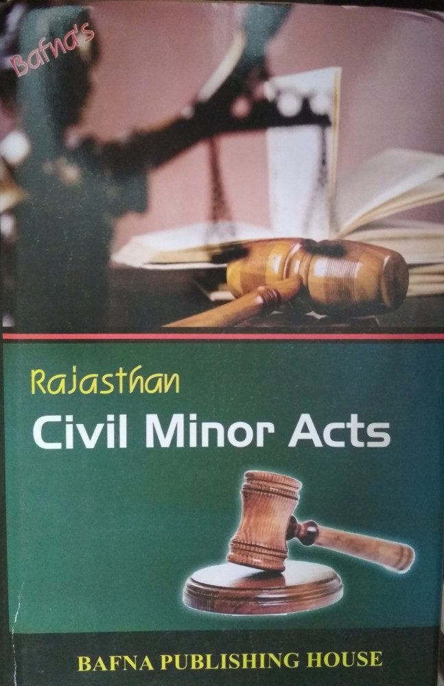 Bafna Civil Minor Acts In English Book