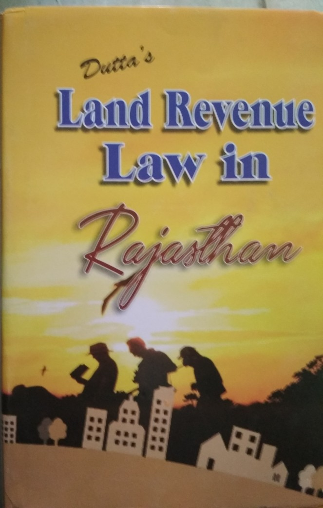Bafna Land Revenue In Rajasthan Book In English By SK Datta