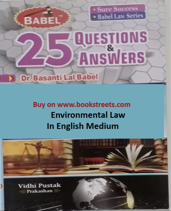 Basanti Lal Babel Environmental Law in English Medium