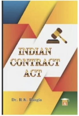 R. K. Bangia Indian Contract Act by Allahabad Law Agency