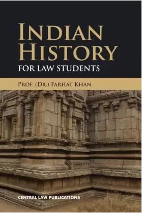 Farhat Khan History for Law Students  by Central Law Publications