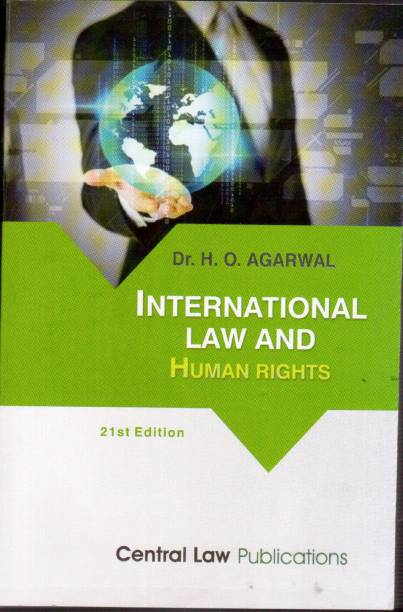 International Law and Human Rights English, Paperback, H.O. Agarwal