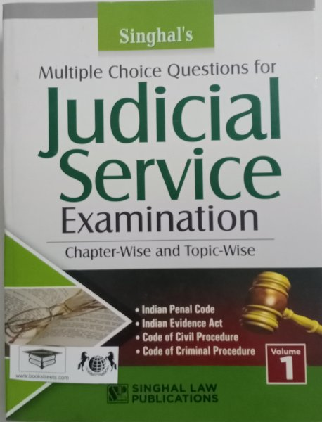 Singhal's Judicial Service Examination - Chapter Wise and Topic Wise  Singhal Law Publications