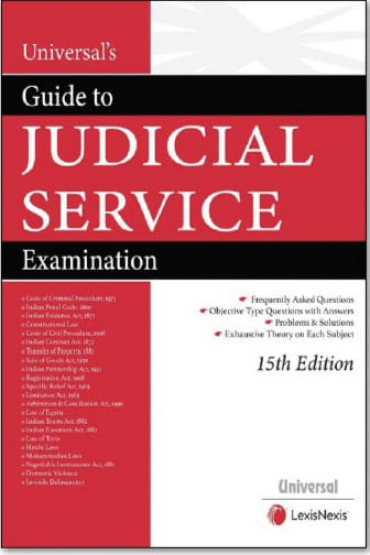Universal's Guide to Judicial Service Examination by LexisNexis