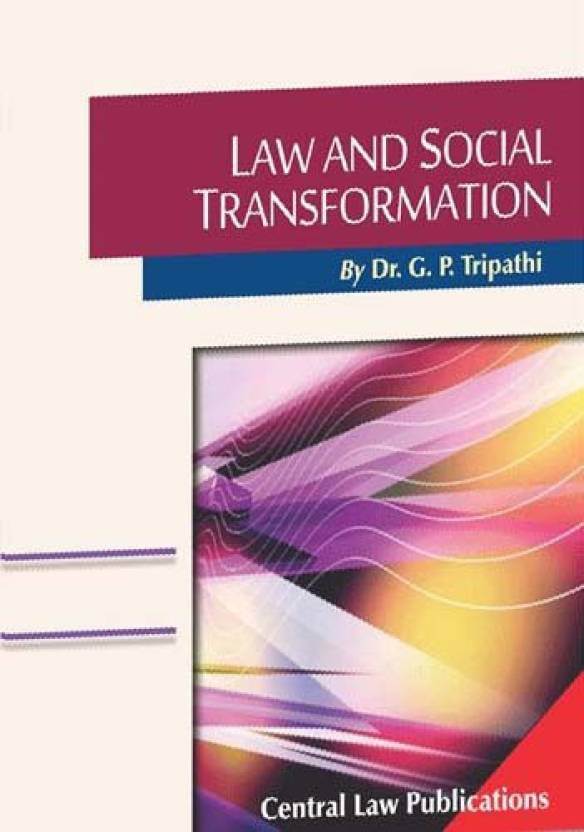 Law And Social Transformation  English, Paperback, G.P. Tripathi