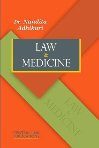 Law & Medicine  English, Paperback, Nandita Adhikari by central law publications