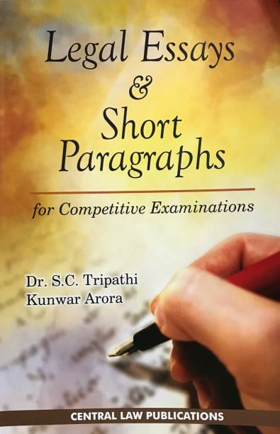 Legal Essays and Short Paragraphs (for Competitive Exam... English, Paperback, SC Tripathi