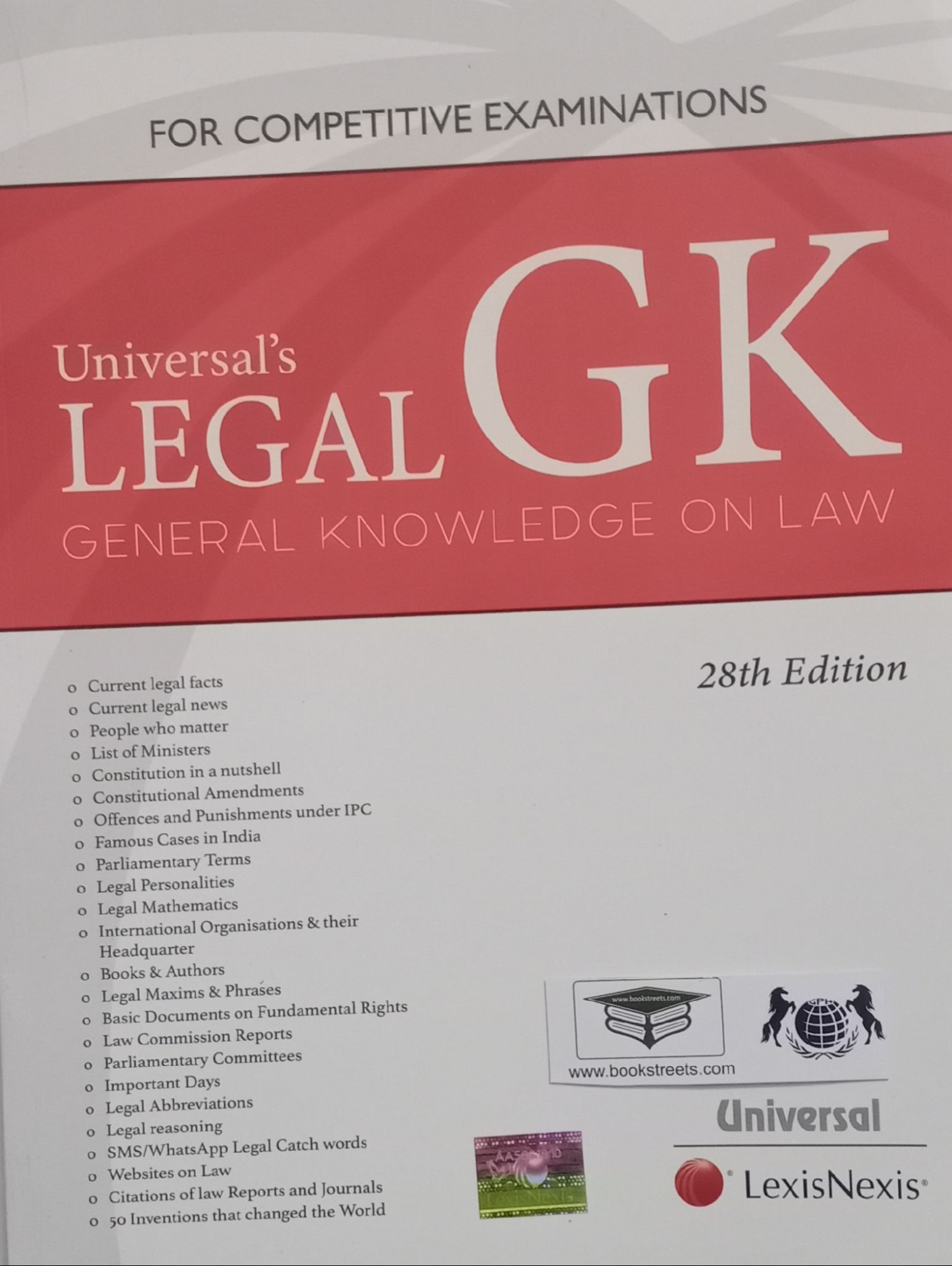 Universal's Legal GK General Knowledge On Law by Universal LexisNexis