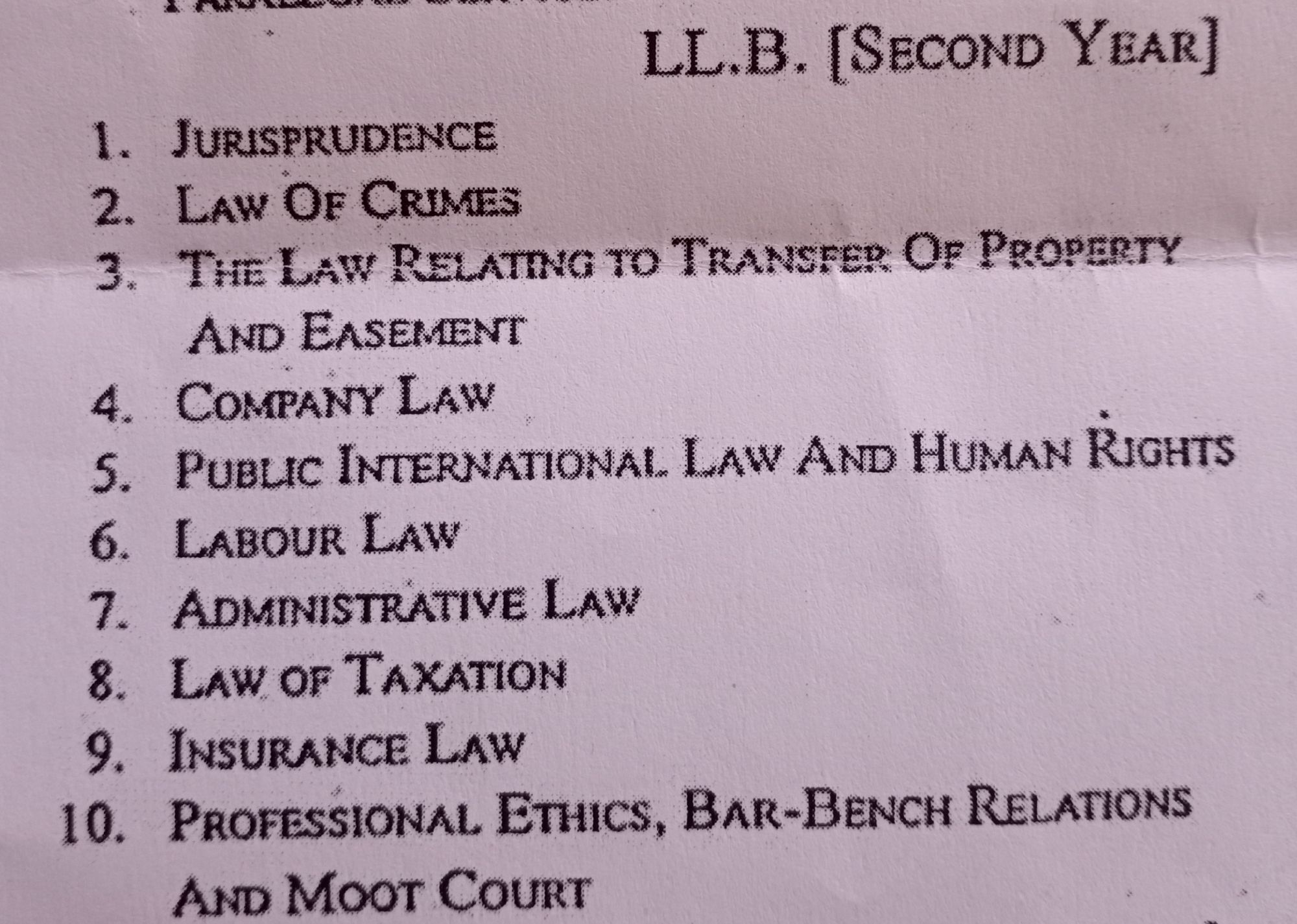Basanti Lal Babel Professional Ethics, Bar-Bench Relation and Moot Court in English Medium