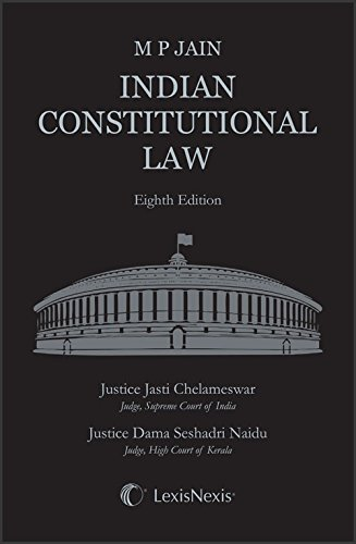 M P Jain Indian Constitutional Law By Lexis Nexis