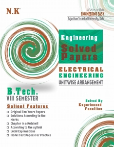 NK Solved Paper 2019 8th Sem Electrical And Electronics Branch