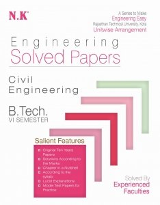 NK Solved Paper 2019 6th Sem Civil Branch