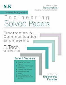 NK Solved Paper 2019 6th Sem Electronics And Communication Branch