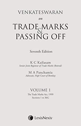 Venkateswaran on Trade Marks & Passing Off (Set of 2 Volumes) by Venkateswaran