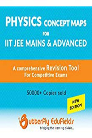 Butterfly Fields - Physics Concept Map Book For IIT JEE MAIN & ADVANCEDPaperback – 2017