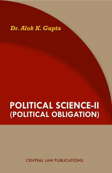 Political Science-II Political Obligation English, Paperback, Alok K Gupta