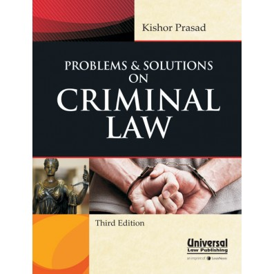 Kishor Prasad Problems and Solutions on Criminal Law by LexisNexis