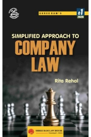 Rita Rehal Simplified Approach to Company Law by Shree Ram House
