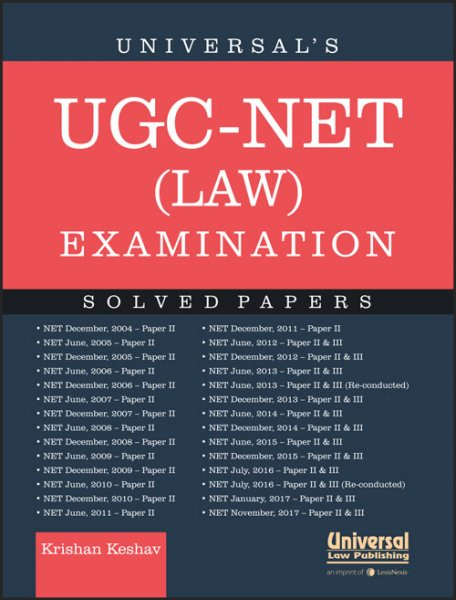 Universals UGC-NET (Law) Examination - Solved Papers