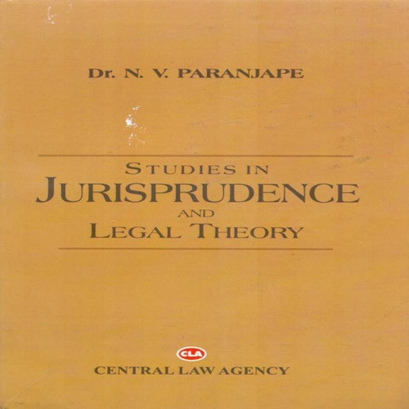 Studies in Jurisprudence and Legal Theory  English, Paperback, N V Paranjape