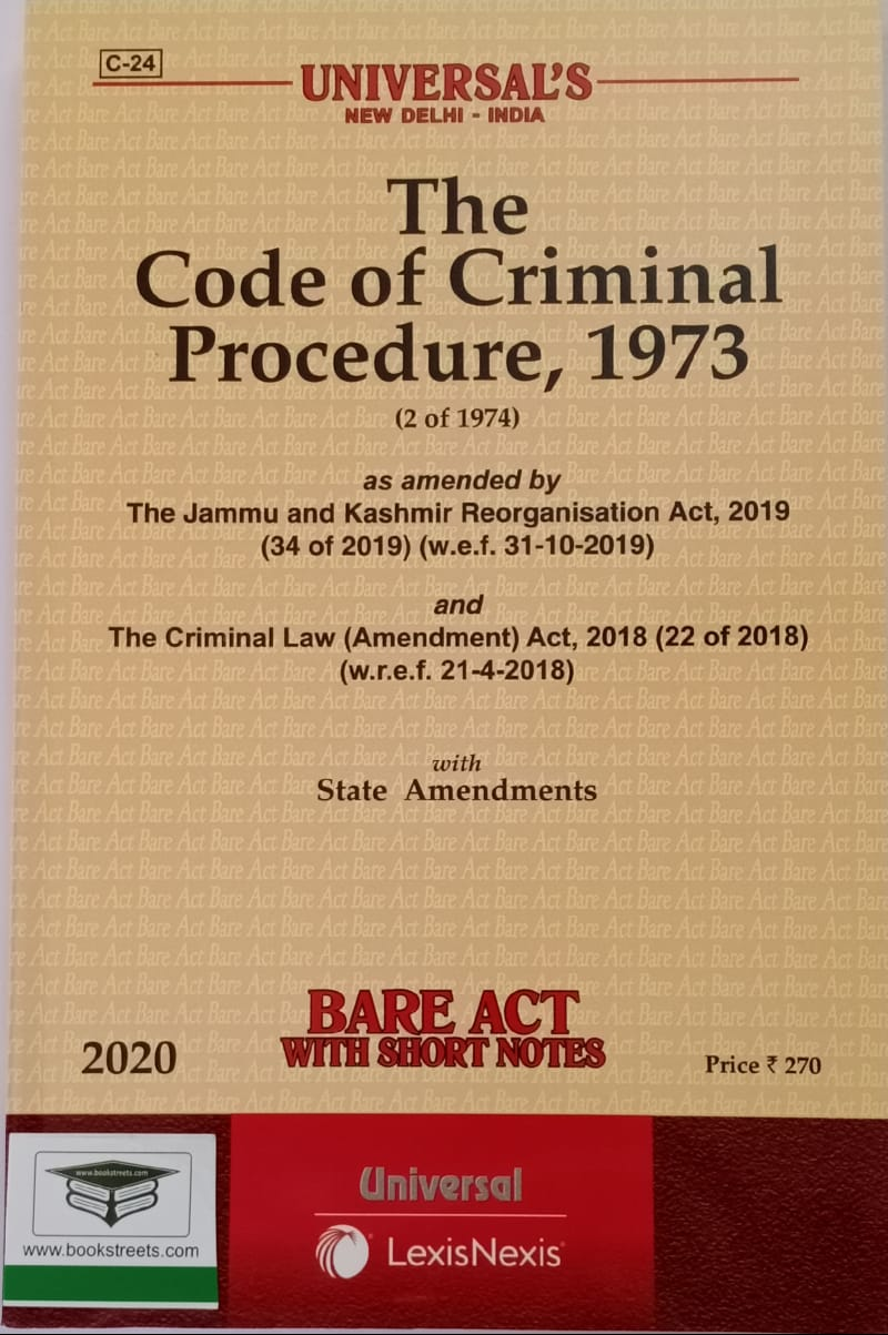 The Code of Criminal Procedure, 1973 by Universal LexisNexis