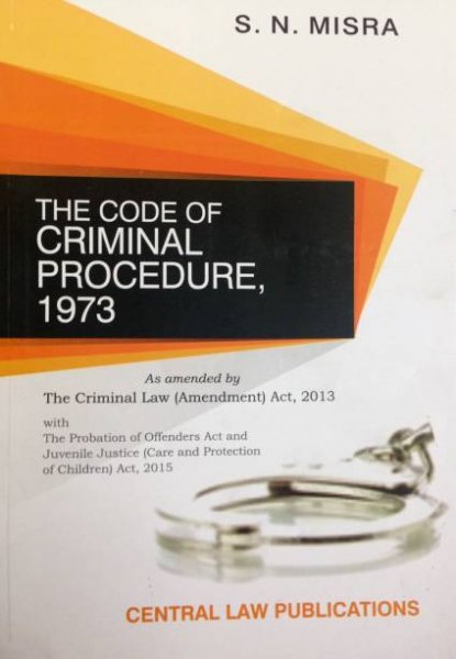 The Code of Criminal Procedure English, Paperback, S.N. Misra