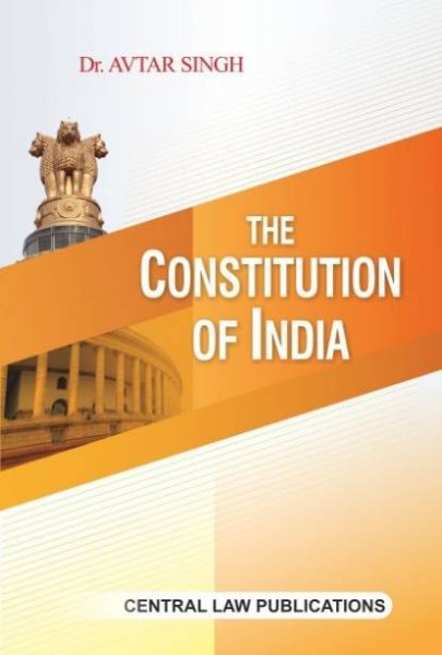 The Constitution of India English, Paperback, Avtar Singh in english