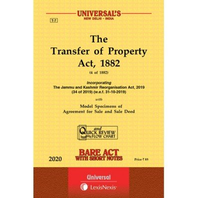 Universal The Transfer Of Property Act, 1882