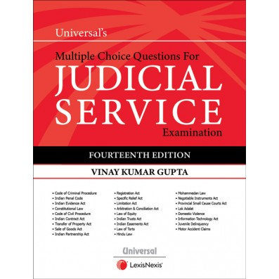 Vinay Kumar Gupta  Multiple Choice Questions for Judicial Service Examination by LexisNexis