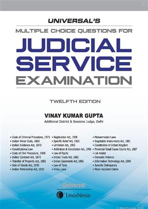 Universals Multiple Choice Questions for Judicial Service Examination
