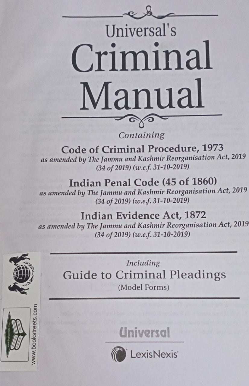 Universal's Criminal Manual by LexisNexis