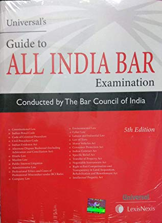 Guide to All India Bar Examination by Universal's